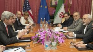 Negociaciones de Lausana sobre el programa nuclear iraní.  Leer más:  El acuerdo con Irán hará caer aún más el petróleo.