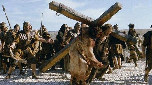 Una escena de la película La Pasión de Cristo, dirigida por Mel Gibson