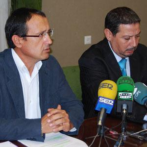 Dionisio Muñoz (d) y Mustafa Aberchan