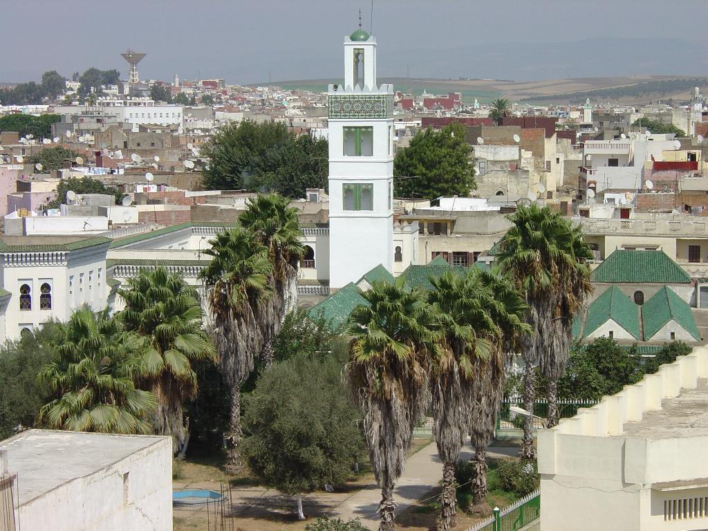 Localidad de Alcazarquivir, Marruecos, donde un hombre quemó viva a su esposa.