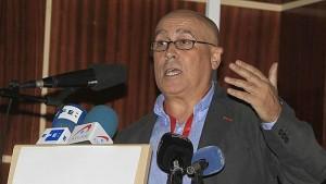 El subteniente Jorge Bravo, presidente de la Asociación Unificada de Militares Españoles.