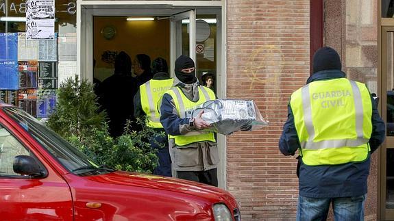 Locutorio registrado en Logroño en el año 2009.