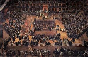 Los autos de fe fueron una manifestación pública de la Inquisición.