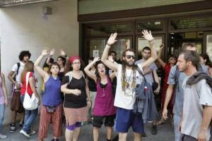 'Okupas' vinculados a Podemos