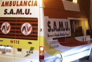 Una unidad del SAMU intentó reanimar al hombre