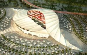Uno de los estadios del mundial de Qatar