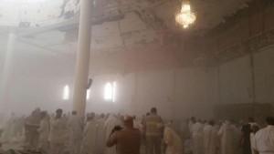 La mezquita que voló este viernes está ubicada en un lugar céntrico