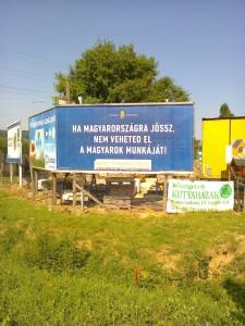 Si vienes a Hungría, ¡no puedes quitarle el trabajo a los húngaros!