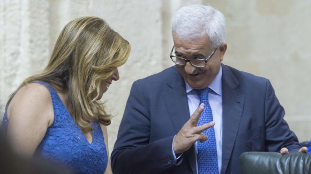 'Chiqui' Manuel Jiménez y Susana Díaz