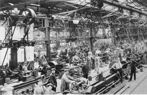 En el siglo XIX los aranceles proteccionistas establecidos por el Gobierno de España permitieron el despegue de la industria catalana