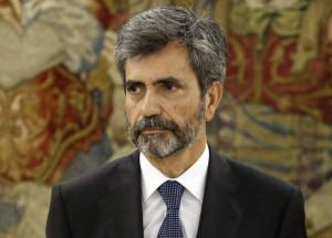Carlos Lesmes, presidente del Supremo y el CGPJ