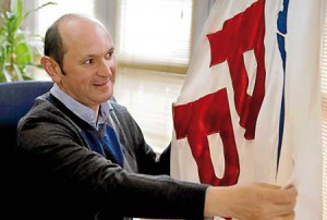 Rafael Louzán, presidente PP Pontevedra