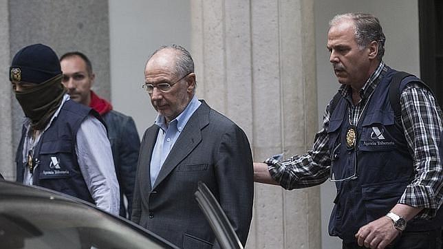 Rodrido Rato durante su detención