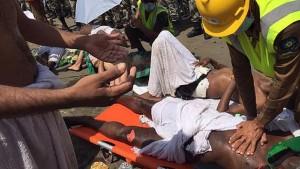 Hay 450 personas heridas tras la avalancha que tuvo lugar a unos 15 kilómetros de la ciudad saudí