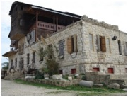 Único edificio de Akhzivland.