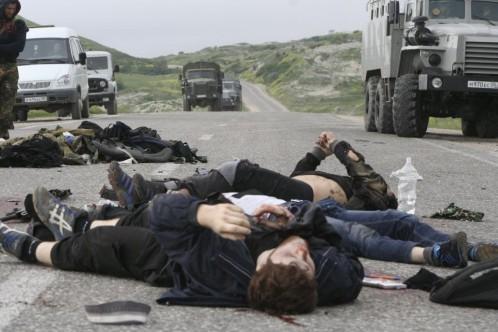 Algunos de los 200 asesinados por el EI tras intentar huir de la organización