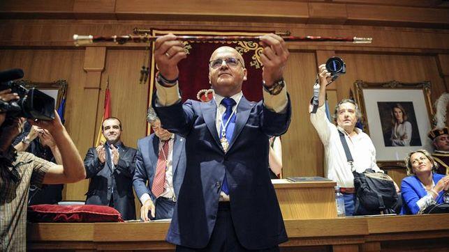 El presidente de la Diputación de Ourense, José Luis Baltar