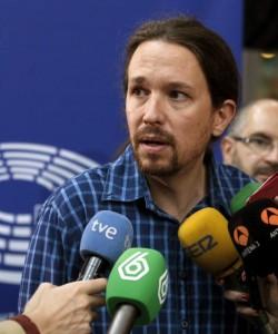 El secretarop general de Podemos, Pablo Iglesias