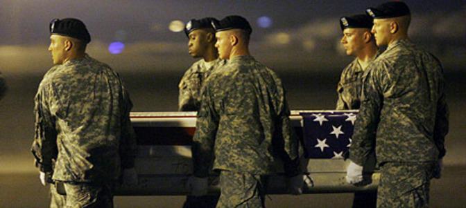 El soldado fallecido durante su traslado