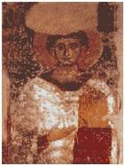 Fresco que representa Arrio