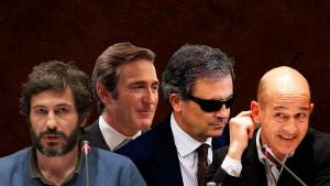 Los cuatro hijos de Pujos acusados por Pedraz
