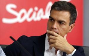 Pedro Sánchez, todavía líder del PSOE