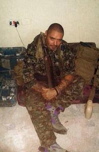 Rodrigo García en Siria