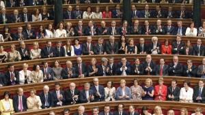 Sesión conjunta de las Cortes