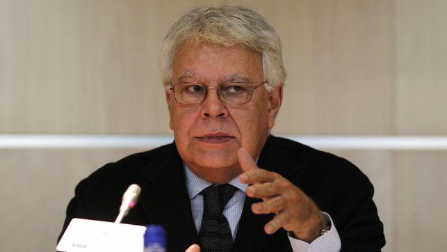 Felipe González, en la lista.
