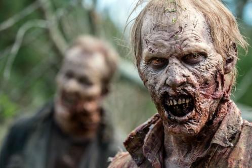 """Escena de la serie """"Walking Dead"""""""
