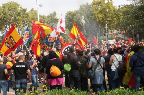manifestacion bandera del aguila