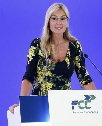 La presidenta de FCC, Esther Alcocer Koplowitz