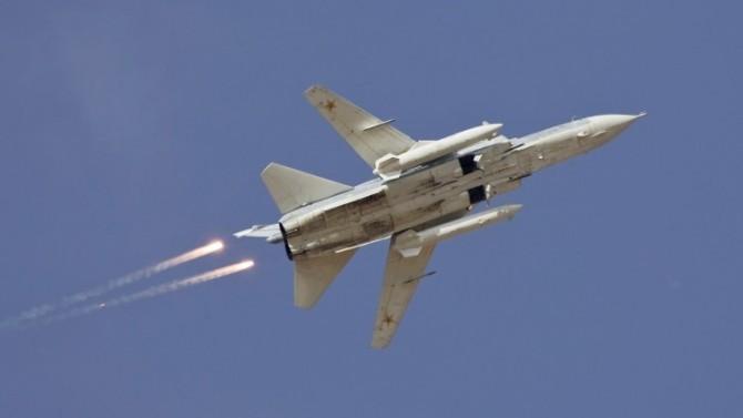 El bombardero Su-24