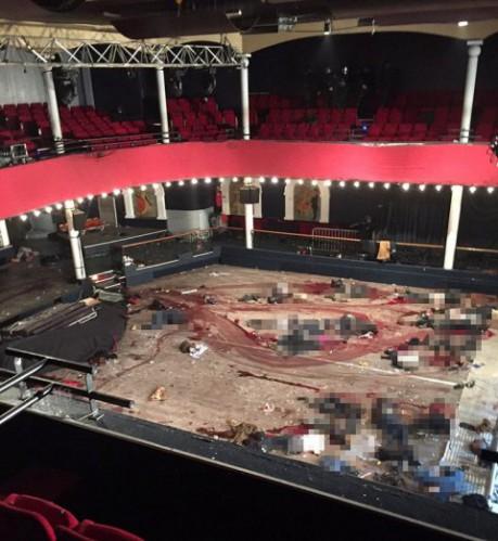 La dramática foto de Le Bataclan tras el ataque terrorista