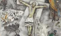 «Crucifixión blanca», de Marc Chagall