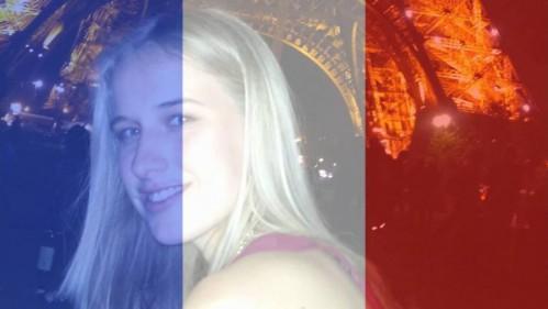 La foto de perfil de Facebook de Isobel, con el apoyo a Francia tras los atentados