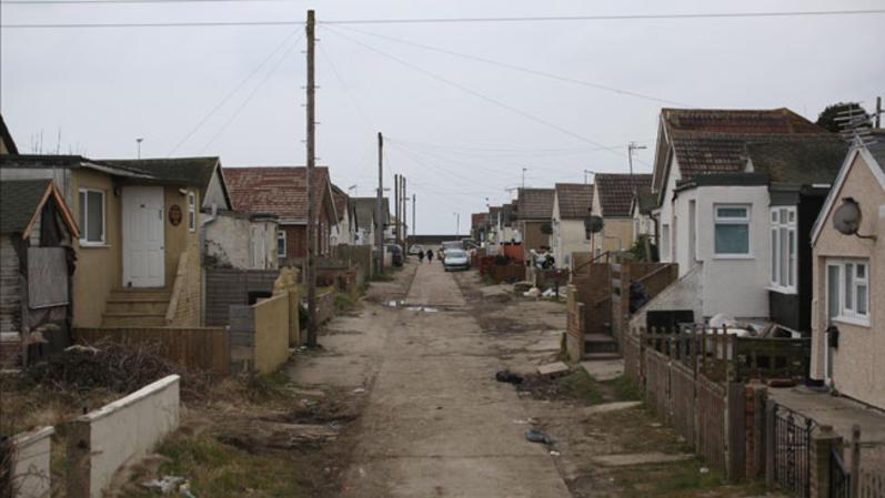 Jaywick, un pequeño pueblo costero inglés