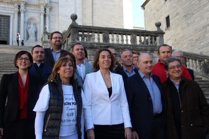 Acto de presentación de la candidatura del PP de Gerona a las elecciones generales