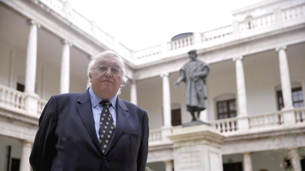Paul Preston en la Universidad de Valencia.