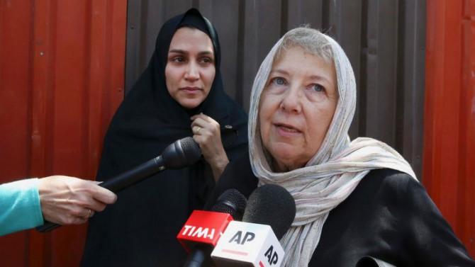 La madre de Rezaian