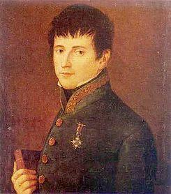 Retrato de Rafael del Riego.