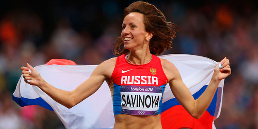 Maryia Savinova, campeona olímpica de los 800 metros es cuestionada por la AMA.