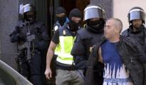 Imagen de una operación contra el terrorismo yihadista en España