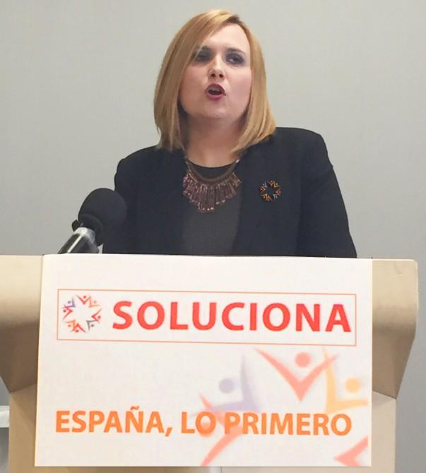 Desireé González, candidata por Málaga al Congreso