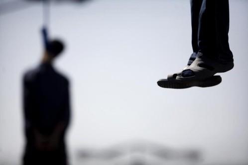 Imagen de archivo de ejecuciones en Irán.