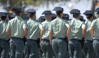 Una promoción de la Guardia Civil en la Academia de Baeza (Jaén).