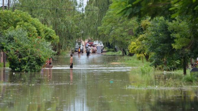 Otra de las provincias más afectadas es Chaco, donde hay casi 1.500 familias evacuadas