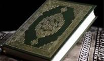 Un ejemplar del Corán.