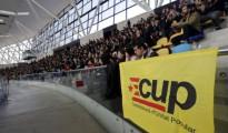 Asamblea de la CUP que debatió y sometió a votación si facilitar la investidura de Artur Mas, el pasaod día 27