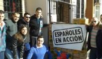 La ONG 'Españoles en Acción' , en una campaña de recogida de juguetes